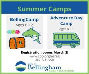 Bellingham Parks & Rec Camps for Kids