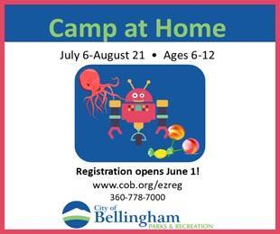Bellingham Parks & Rec Camps for Kids