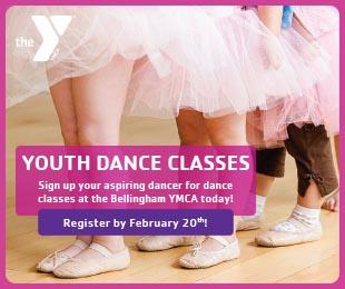 Whatcom Family YMCA Dance Classes February 2020